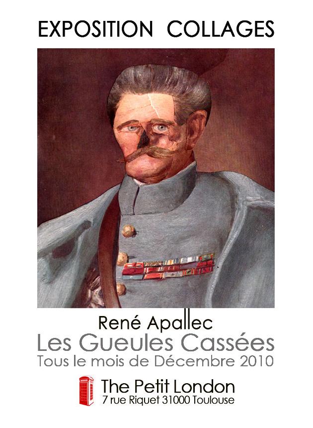 René Apallec expose 24 Gueules Cassées
