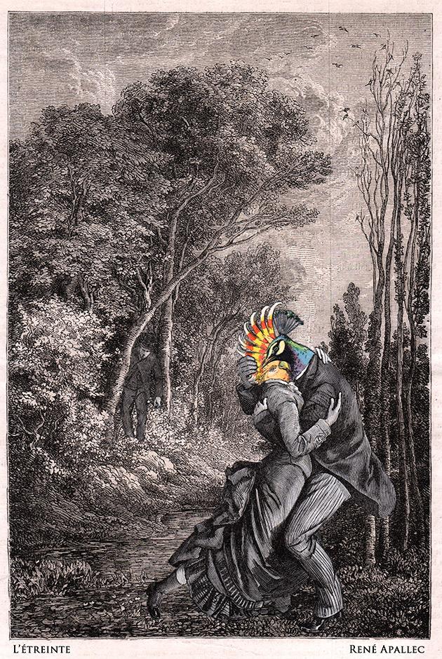 "Mythologie volatile ""L'Étreinte"""