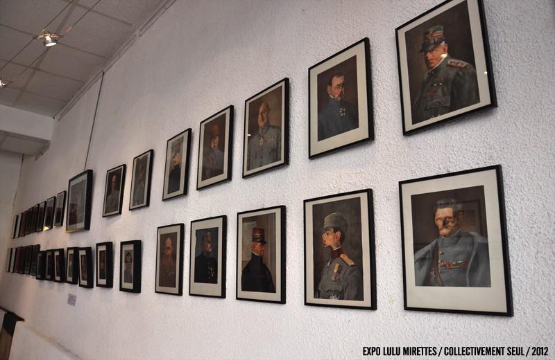 LM Galerie présente 76 Gueules Cassées de René Apallec inédites du 24 mai au 2 juillet
