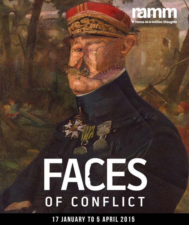 Exposition au RAMM sur l'impact de la Première Guerre mondiale sur l'art et la chirurgie reconstructive du visage
