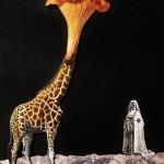 Girafolle des Neiges