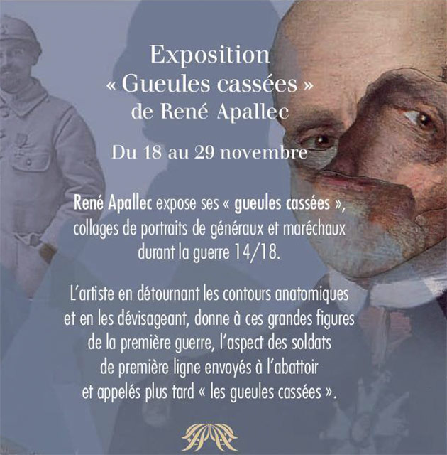 Exposition René Apallec Pechbonnieu
