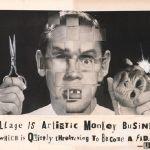 Collage Museum of San Francisco expose René Apallec